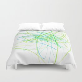 Feelings Lightroom Colored Pencils Duvet Cover