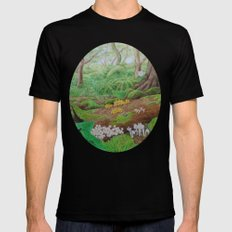 A Day of Forest (5). (dead wood ecosystem) MEDIUM Mens Fitted Tee Black