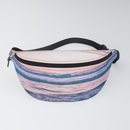Pretty Pink Sunset Fanny Pack