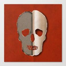 3d skull Canvas Print