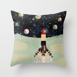 explorer 1 Throw Pillow