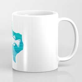 Texas Wave Fishing Coffee Mug