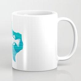 Texas Wave Fishing Coffee Mug