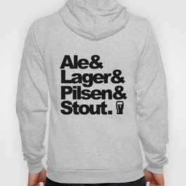 Ale and Lager and Pilsen and Stout Hoody