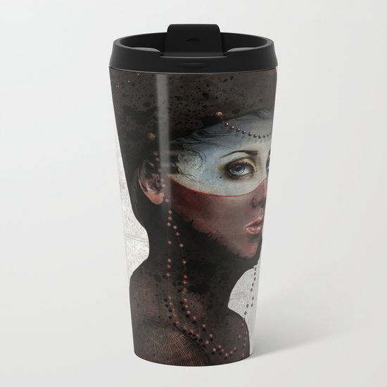 Priest Metal Travel Mug