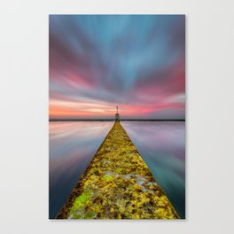 Fixed Link Or The Road To Hell Canvas Print