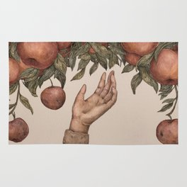 Apple Picking Rug