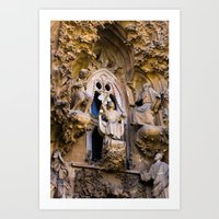 Sagrada Familia #1 Art Print