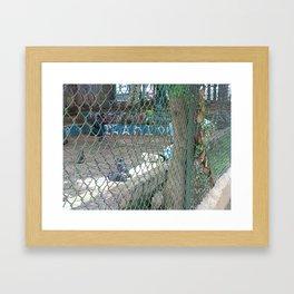 pidgeons and hobos Framed Art Print
