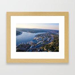 Seattle Washington Framed Art Print