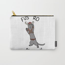 Fus Ro MEOW! Carry-All Pouch