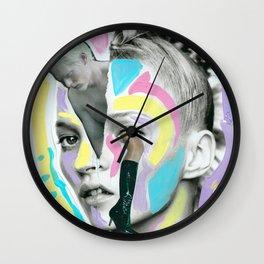 Kiss Me Kate Wall Clock