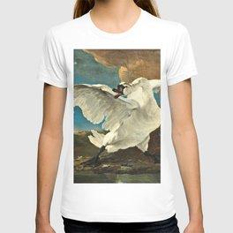 Jan Asselijn - The Threatened Swan T-shirt