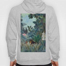 Henri Rousseau Equatorial Jungle Hoody