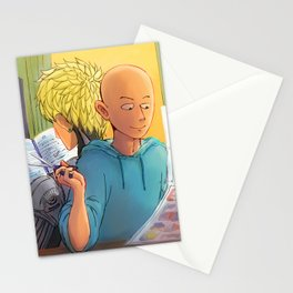 Lazy Sunday with Sensei Stationery Cards