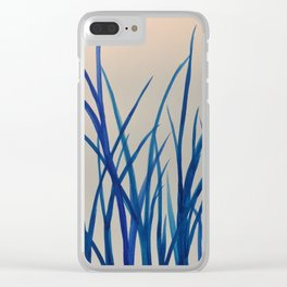 The grass is not greener on the other side Clear iPhone Case