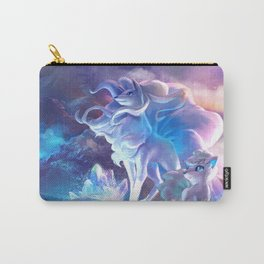 Alolan Ninetales  and Vulpix Carry-All Pouch