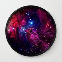 galaxy Wall Clocks featuring Galaxy! by Matt Borchert
