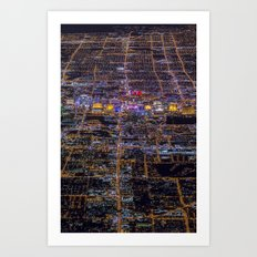 City from above 2 Art Print