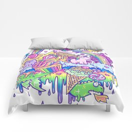 Kawaii Drip Comforters