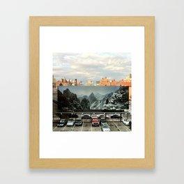 Alternate NYC Framed Art Print