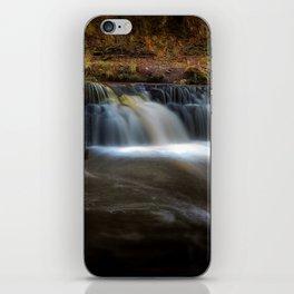 Afon Pyrddin waterfall Pontneddfechan iPhone Skin