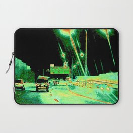 A Little Night Drive Laptop Sleeve