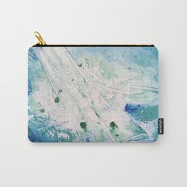 Ocean White Carry-All Pouch