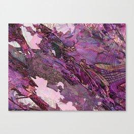 DIMENSIONS PURPLE Canvas Print