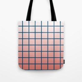 grid pattern Tote Bag