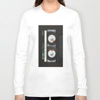 daenerys targaryen Long Sleeve T-shirts featuring cassette classic mix by neutrone