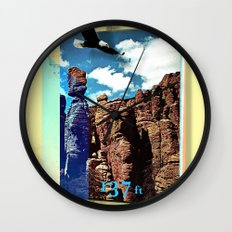 Chiricahua Range Wall Clock