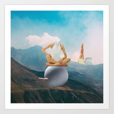 In The Clouds 2.0 Art Print