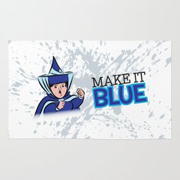 "Merryweather ""Make It Blue"" / Sleeping Beauty Rug"