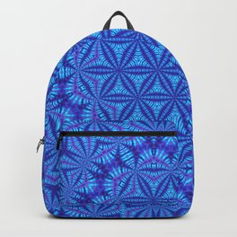 Vibrating Flower of Life Backpack
