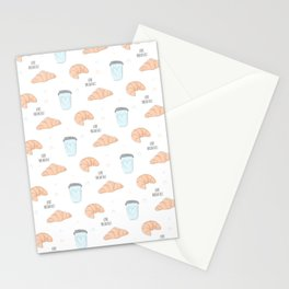 Love breakfast Stationery Cards
