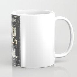Tower of london England vintage poster Coffee Mug