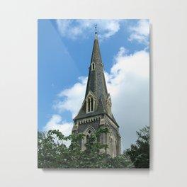 English Church Steeple London Metal Print