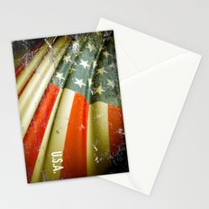 Flag of USA Stationery Cards