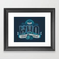 Infinite Who Framed Art Print