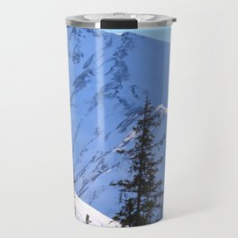 Back-Country Skiing  - V Travel Mug