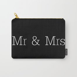 Mr & Mrs Monogram Standard Carry-All Pouch