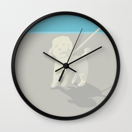 RICH BITCH Wall Clock