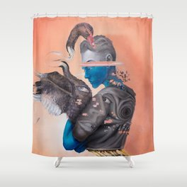 Androgenetic Shower Curtain
