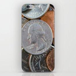 Coins iPhone Skin
