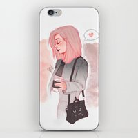 laia iPhone & iPod Skins featuring Coffee Luv by Laia™