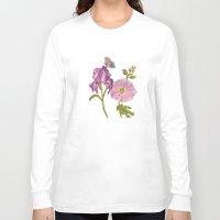 botanical Long Sleeve T-shirts featuring Botanical by Catherine Holcombe