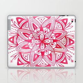 Mandala - Pink Watercolor Laptop & iPad Skin