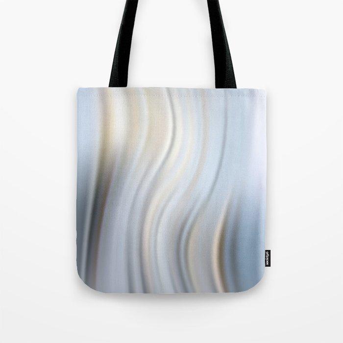 Abstract modern wavy background, elegant wave illustration Tote Bag