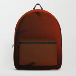 The Red Tropical Sunset (Color) Backpack